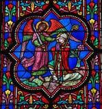 St Michael Images libres de droits