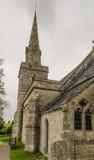 St Michael & Al Engelenkerk bredy weinig royalty-vrije stock foto