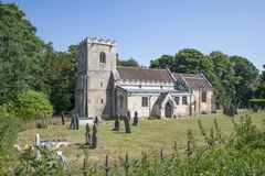 St Michael & All Angels Church, Brodsworth, Doncaster Royalty Free Stock Photos