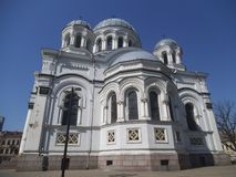 St Michael Archangel Church en Kaunas imagen de archivo libre de regalías