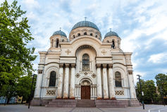 St. Michael the Archangel church in Kaunas Royalty Free Stock Images