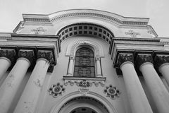 St. Michael the Archangel church in Kaunas. Stock Image