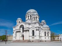 St Michael the Archangel Church in Kaunas, Lithuania. Royalty Free Stock Photo