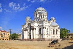 St. Michael the Archangel church in Kaunas, royalty free stock image