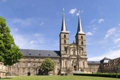 St Michael Bamberg del monasterio Foto de archivo libre de regalías