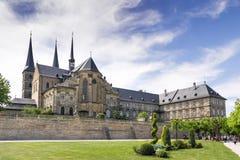 St Michael Bamberg del monastero Immagini Stock
