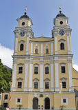 St. Michael Basilica at Mondsee, Austria. Royalty Free Stock Photo
