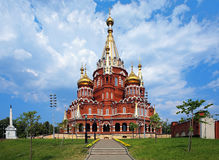 St. Michael cathedral in Izhevsk, Russia Royalty Free Stock Photography