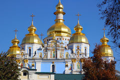 St. Michael Cathedral in Kiev Stock Photography