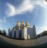 St. Michael cathedral. Kyiv, Ukraine. Stock Photos