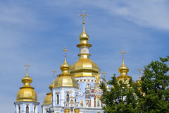 St. Michael in cathedral in Kyiv Royalty Free Stock Photography