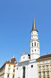 St. Michael Cathedral in Vienna, Austria stock photos