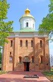 St. Michael Cathedral of Vydubychi Monastery, Kyiv, Ukraine Stock Photo