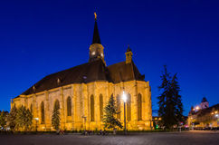 St. Michael Catholic Church Cluj Napoca Royalty Free Stock Photo