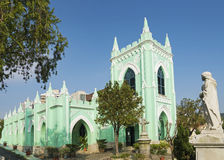 St michael cemetery church in macau china Royalty Free Stock Images