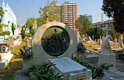 St. Michael Cemetery, Macao Royalty Free Stock Images
