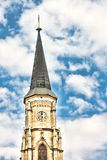 St. Michael Church. In Cluj Napoca, Romania Stock Photography