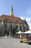 St. Michael Church, Cluj, Romania Royalty Free Stock Photos