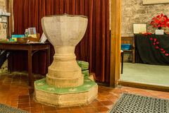 St Michael Church Font fotos de stock