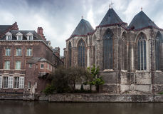 St. Michael church gent Royalty Free Stock Images