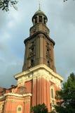 St. Michael church in Hamburg Royalty Free Stock Image