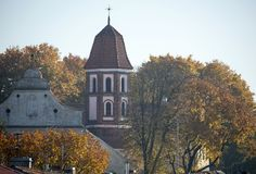 St. Michael Church In Kaunas royalty free stock photos