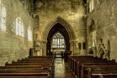 St Michael Church Nave HDR Fotografering för Bildbyråer
