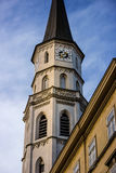 St. Michael Church Tower in Vienna Royalty Free Stock Images