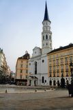 St.Michael church - Vienna. St.Michael church in Vienna, Austria,Europe Stock Photo