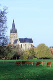 St. Michael Church village of Thorn in Netherlands Stock Photography