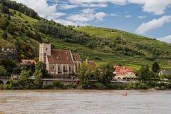 St. Michael church in Wachau Stock Images