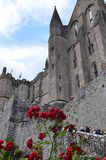 St. Michael closter in Normandy (France). On JULY 2014 Royalty Free Stock Image