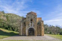 St Michael de Lillo римско-католическая церковь на Naranco m стоковое фото