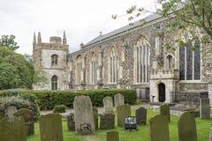 St Michael die Erzengel-Gemeindekirche, Beccles, Suffolk, Englan Lizenzfreie Stockfotos