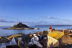 St Michael góra Cornwall Anglia Zdjęcie Stock