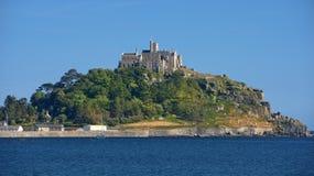 St Michael góra, Cornwall, Zjednoczone Królestwo Zdjęcia Royalty Free