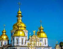 St Michael Golden-Domed Monastery em Kiev, Ucr?nia imagem de stock