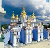 St. Michael Gouden Overkoepeld Klooster Royalty-vrije Stock Afbeeldingen