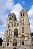 St. Michael and Gudula Cathedral Brussels, Belgium Royalty Free Stock Photography