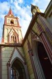 St Michael a igreja Merida Venezuela do arcanjo fotos de stock royalty free