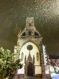 St Michael kapell i den huvudsakliga fyrkanten av den Kosice staden i östliga Slovakien Royaltyfria Bilder
