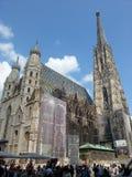 St Michael Kathedrale, Wien, Österreich Lizenzfreies Stockbild