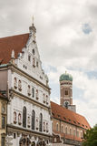 St Michael kerk in München Stock Fotografie