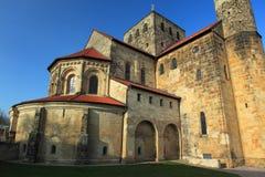 St Michael kyrka i Hildesheim Royaltyfri Fotografi