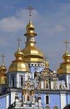 St Michael kyrka i Kiev Arkivfoto