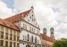 St Michael kyrka i Munich Fotografering för Bildbyråer