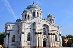 St Michael l'église d'Arkhangel image stock