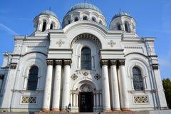 St Michael l'église d'Arkhangel images libres de droits