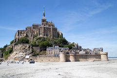 St. Michael Mount, France Stock Images