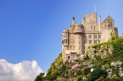 St Michael Onderstel. Cornwall, Engeland Royalty-vrije Stock Afbeeldingen